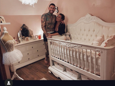Jeremy McConnell & Katie McCreath's Nursery Reveal