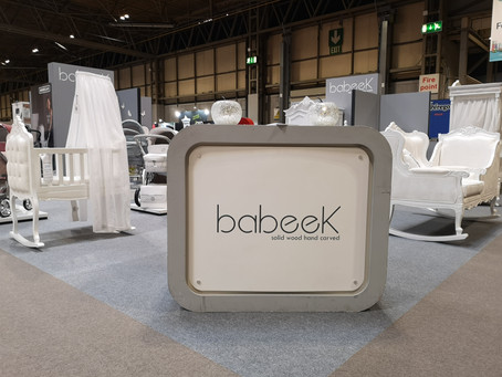 Bespoke for Babeek - The Baby Show NEC Birmingham