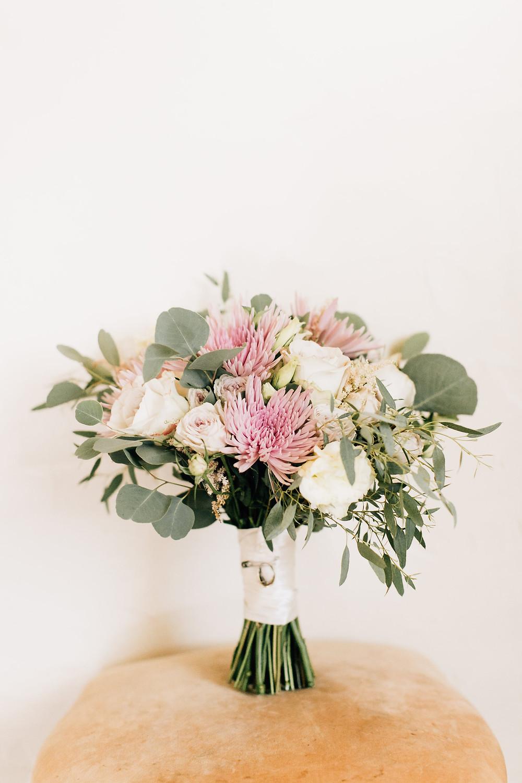 Florals: Rosebud Floral Design // Venue: Santa Barbara Historical Museum