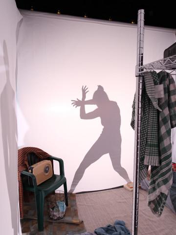 Silhouette of Performer Olivia Adams