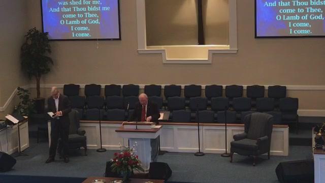 Guest preacher Brother Dan Wynn.