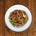 ginger spring onion beef