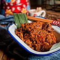 beef rendang with rice (chilled)