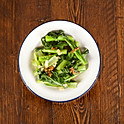 choy sum with garlic