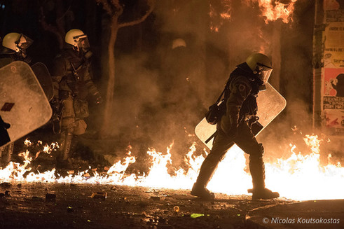 Riots in Athens on anniversary of shooting of Alexis Grigoropoulos by a police officer