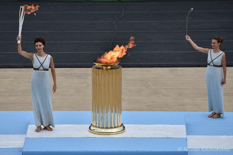 Handover Ceremony of the Olympic Flame in Athens