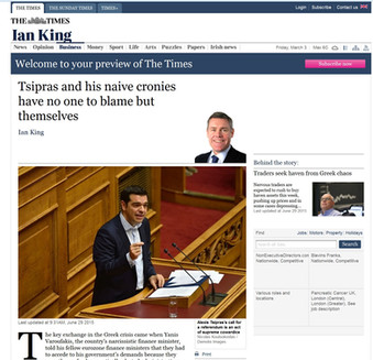The Times. 29 June 2015.