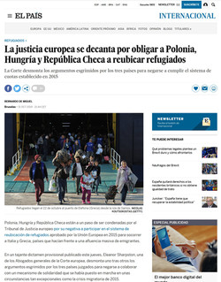 El Pais. 31 October 2019.