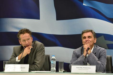Eurogroup President Jeroen Dijsselbloem in Athens