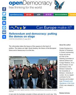 Open Democracy. 27 June 2015.