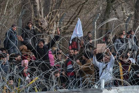 Tension at the Greek-Turkish border
