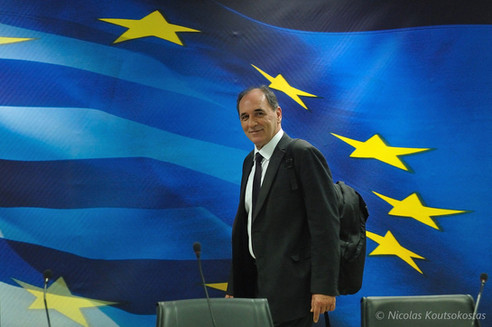 Handover ceremony at the Greek Ministry of Economy