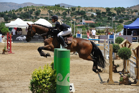 Equestrian Championship at Markopoulo Olympic Equestrian Center