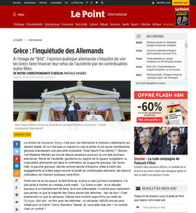Le Point. 26 January 2015.