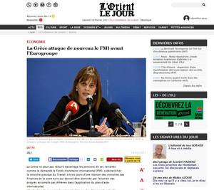 L' Orient le jour. 18 February 2017.