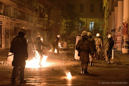 43rd anniversary of Athens Polytechnic uprising