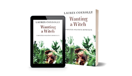 Wanting a Witch Mockup ebook and paperba