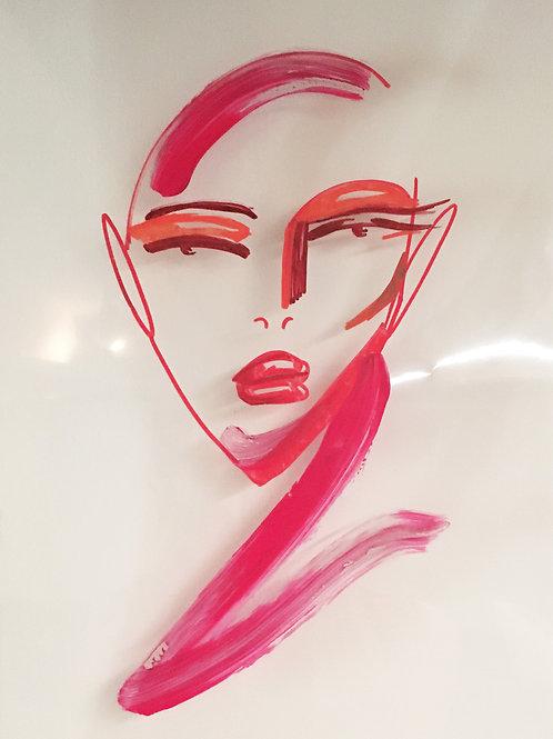 Form Force - 2 mm plexi pink