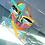 Thumbnail: Recycled - Plexiglass monster yel