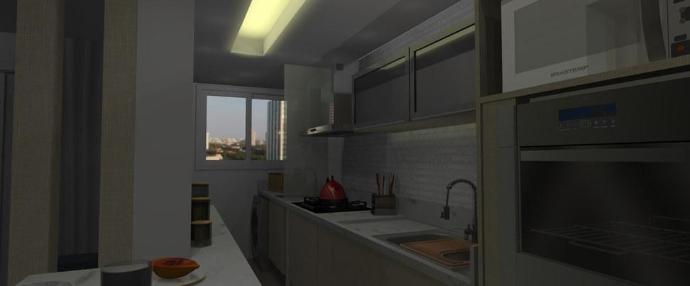 Cozinha Integrada - Santa Rosa
