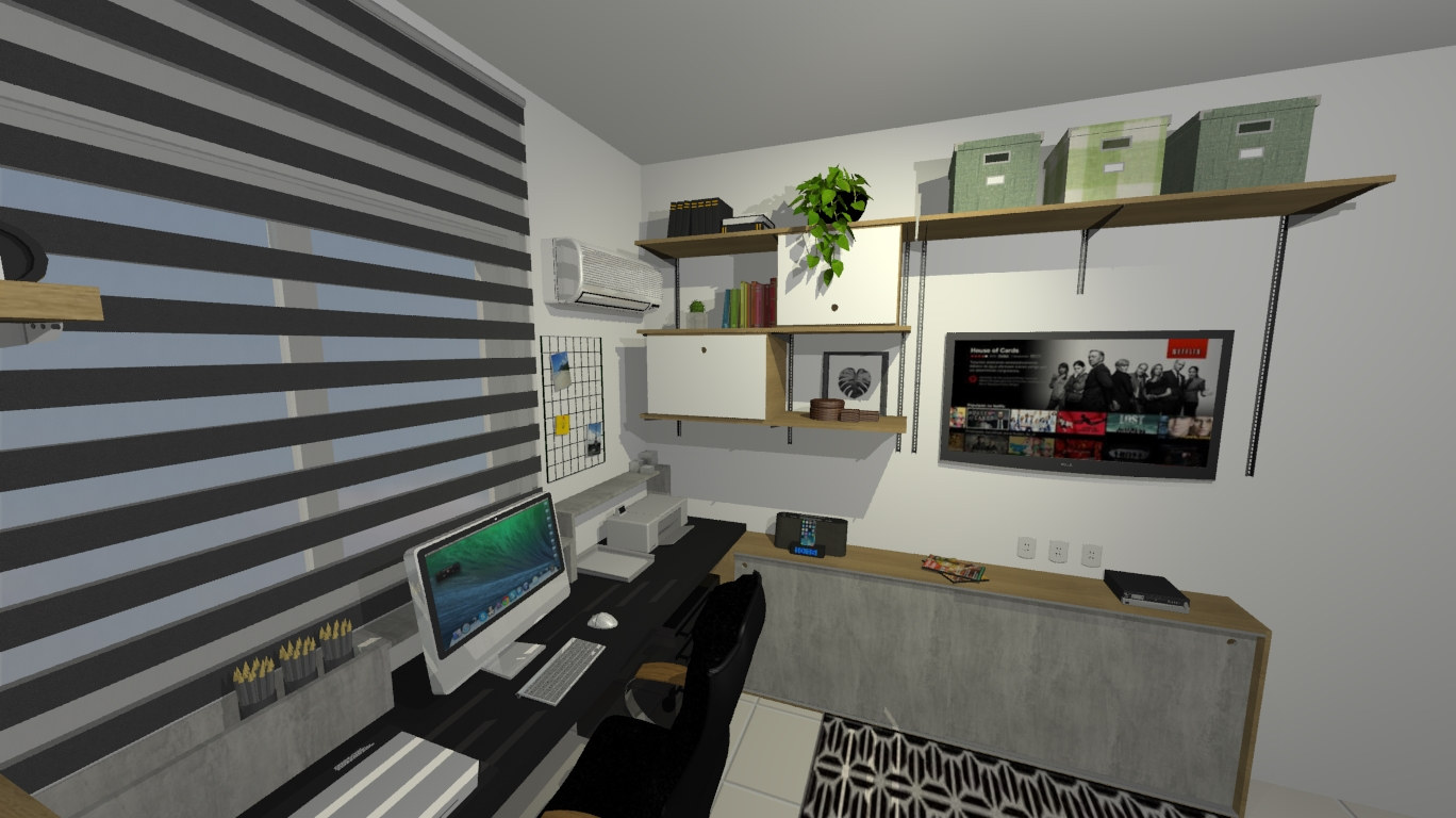 Home Office - Barra da Tijuca