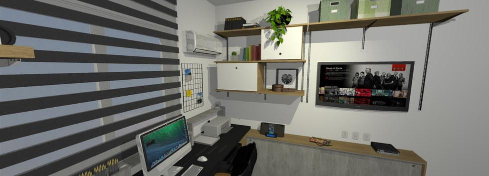 Home Office - Barra da Tijuca