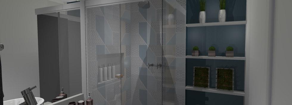 Banheiro Social - Apartamento Freguesia