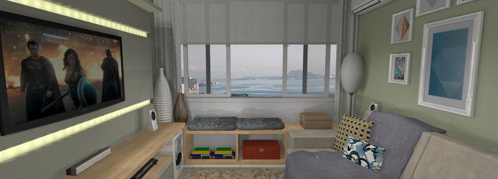 Sala - Apartamento Botafogo