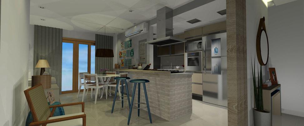 Living - Apartamento Jacarepaguá