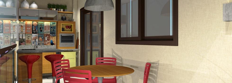 Varanda - Apartamento Freguesia
