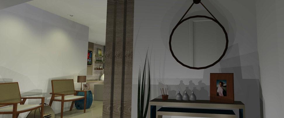 Hall de entrada - Apartamento Jacarepaguá