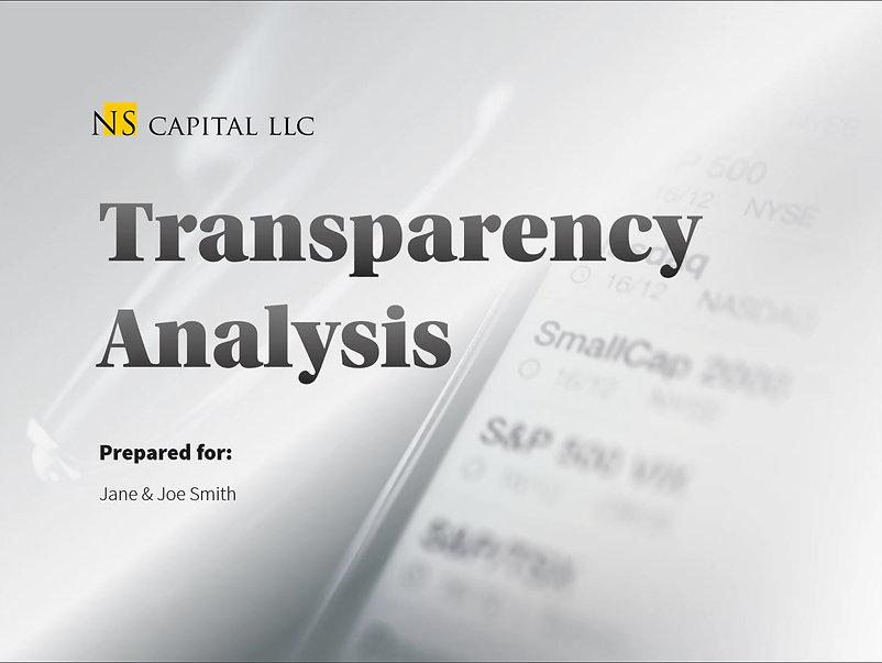 NS Capital Sample Transparency Analysis