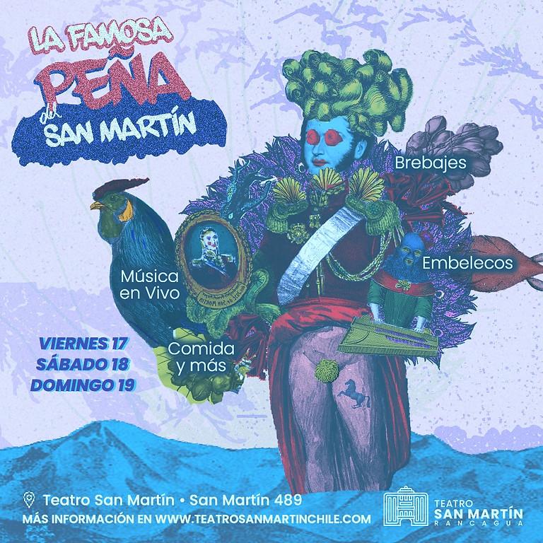 La Famosa Peña del San Martín , Sábado 18