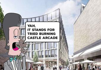 Tribeca paste up illustration