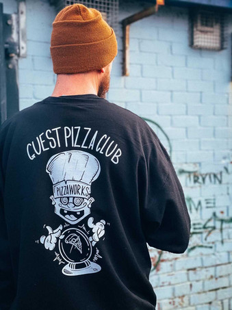 Pizza Works sweater