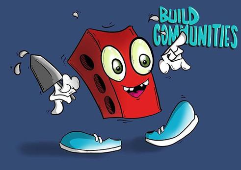 Build communities illustration