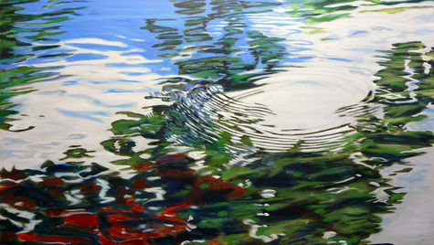 Waterreflection  SOLD