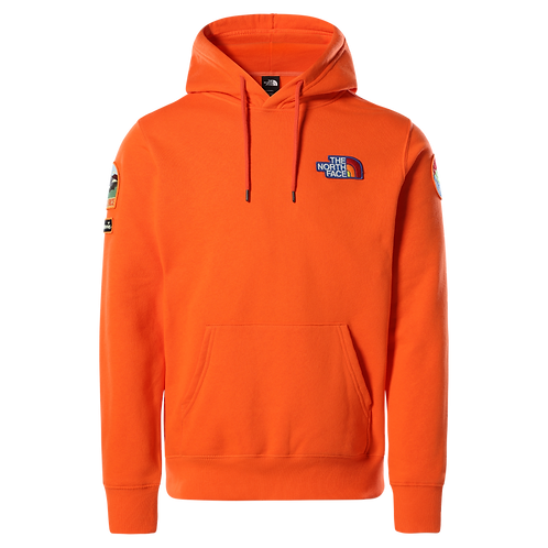 Men's Novelty Patch Pullover Hoodie
