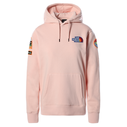 Women's Novelty Patch Pullover Hoodie
