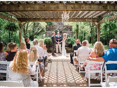 Amanda and Josh - Hocking Hills Wedding Chapel - Logan, Ohio