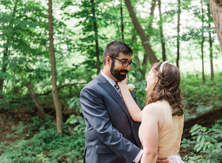 Erin and Shehzad - A Beautiful Intimate Ceremony - Athens, Ohio