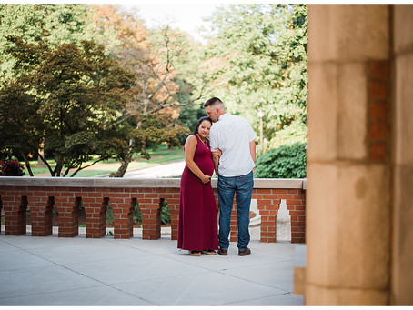 Riley and Justice - Maternity Session Turned Surprise Proposal