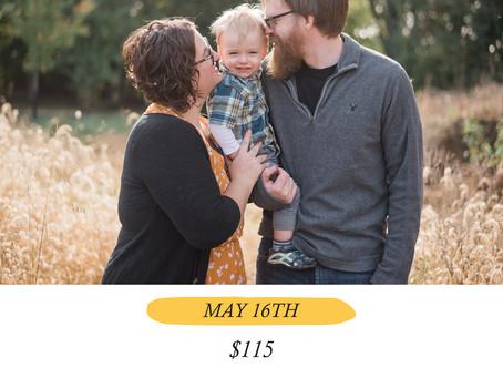 Spring Mini Sessions 2020 - Chestnut Ridge Metro Park