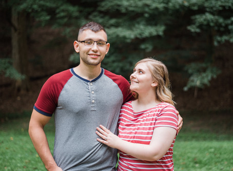 Tori and Colton's Engagement Session at Rising Park