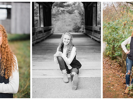Abby - Senior Session - Downtown Lancaster and Slate Run Metro Park