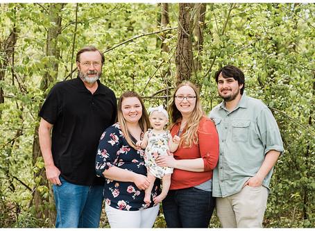 Emma and Family - Spring Mini Session - Carroll, Ohio