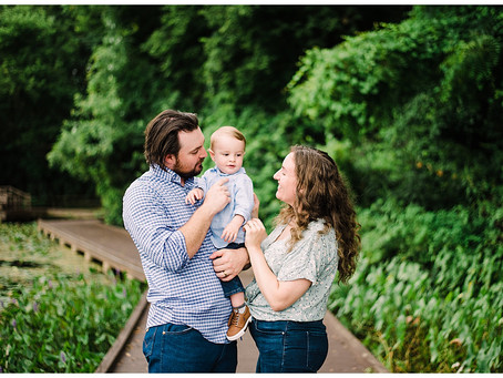 A Summer Family Session at Slate Run