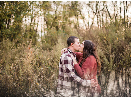 MacKenzie and Donny - Fall Engagement Session - Slate Run Metro Park