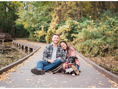 Riley, Justice, and Betty - Family Session - Slate Run Metro Park