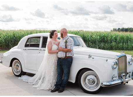 Alie and David - The Poston Manor and Event Barn - Logan, Ohio